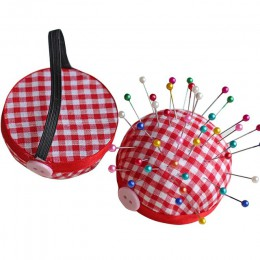 1 pieza en forma de bola DIY artesanía aguja Pin soporte de cojín Kit de costura Pincushions herramientas de costura Pincushions