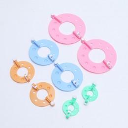 8 Uds. Kit DE FABRICACIÓN de pompones que hacen punto artesanías de diferentes tamaños de bola de felpa que hace la herramienta