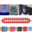 Tejer telar plástico redondo gorro herramientas de tejer sombrero bufanda bufandas tejer aguja telar tejer Crochet herramientas