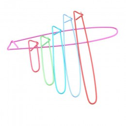 6 unids/set de aluminio agujas de tejer Clip de los titulares de la puntada alfileres de seguridad ganchos de ganchillo de tejer