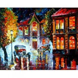 AZQSD pintura por números de paisaje de aceite pintura cartel carteles de colores y las huellas sin arte hogar Decoración DIY