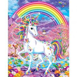 Unicornio hecho a mano pintura lienzo de alta calidad hermosa pintura por números regalo sorpresa gran éxito