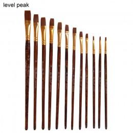 12 Uds. Pintura acrílica de acuarela pincel acuarela lápiz artista por número arte suministros de arte modelo de pintura acuarel
