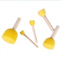 Piezas esponja pinceles de pintura niños pintura Kits de Aprendizaje Temprano brochas de espuma para arte DIY manualidades