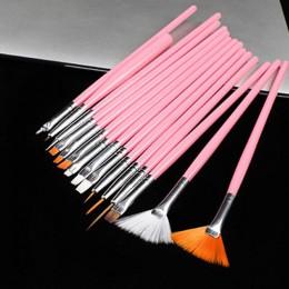 15 Uds Gel accesorios de manicura belleza Popular pluma de dibujo profesional pintura de Gel bolígrafos pincel uñas herramientas