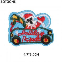 ZOTOONE 1 Uds. Parches de coche de dibujos animados para ropa apliques bordados Diy hechos a mano cosas de extraños lindos parch