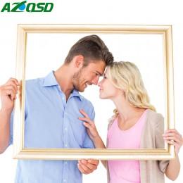 AZQSD 5D pintura de diamantes foto cuadrada completa personalizado DIY bordado de diamantes venta imagen de Perforación redonda