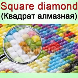 HOMFUN foto personalizado pintura diamante 5D DIY cuadro de diamantes de imitación diamante del bordado de 3D Cruz puntada casa