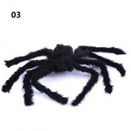 Araña de felpa súper grande hecha de alambre y felpa de Estilo negro y multicolor para decoraciones de fiesta o halloween 1 Uds.
