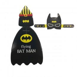 54 Uds Superman Batman dibujos animados caramelo piruleta decoración tarjetas para niños cumpleaños suministros dulces regalo Ac