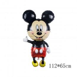 112cm gigante Minnie Mickey cumpleaños fiesta globo niños juguetes clásicos regalo dibujos animados papel de aluminio globos Bab