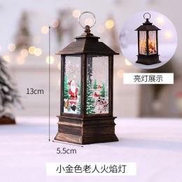 Adornos navideños para el hogar Led 1 Uds vela de Navidad con velas LED de luz de té decoración de árbol de Navidad Kerst Decora
