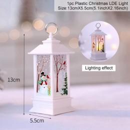 QIFU decoraciones navideñas pegatina de ventana decoración de Navidad para la decoración de Navidad del hogar feliz Navidad 2019