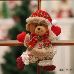 Año Nuevo 2020 lindas muñecas de Navidad Santa Claus/muñeco de nieve/ALCE Noel árbol de Navidad decoración para el hogar Navidad