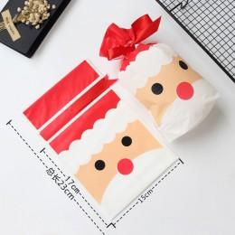 Bolsas de Navidad regalos de navidad bolsas de regalo lote saco de Santa Claus bolsa de caramelos Navidad decoraciones 2019 rega