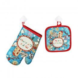 2 unids/set decoraciones de Feliz Navidad para el hogar Navidad 2019 adornos guirnalda Año Nuevo 2020 Noel Santa Claus regalo Na