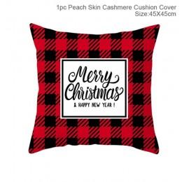 Fundas de almohada de Navidad decoración Feliz Navidad para el hogar regalos de Navidad 2019 decoración de Navidad Feliz Año Nue