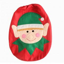 Año Nuevo decoración de Navidad ornamento de Navidad 2019 regalos adornos navideños para el Hogar Santa Claus tapa de inodoro SD