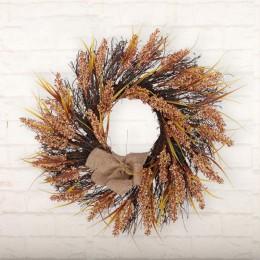 30/40CM guirnalda de navidad hecha a mano colgante de ratán guirnalda centro comercial árbol de navidad puerta decoración Advien