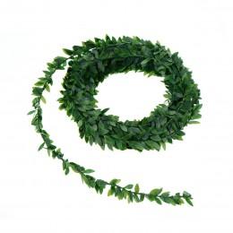 7,5 m Artificial hiedra Garland follaje hojas verdes vid simulada para la ceremonia de la boda DIY diademas