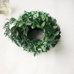 190CM de largo decoración artificial para fiestas de boda vid artificial de colgar planta hojas Garland hogar Decoración de pare