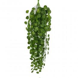 Decoración Artificial vid delicada guirnalda de hojas de hiedra Artificial planta vid falsa follaje fiesta boda decoración hogar