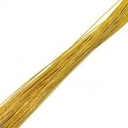 25 uds 80cm Alambre de flores 0,45mm de diámetro Alambre de hierro para DIY nailon para almacenar flores que hace nailon para al