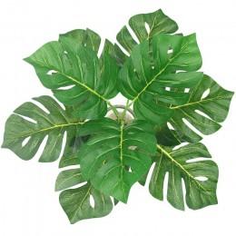 Naturaleza hierba artículos de simulación artesanías plantas falsas Artificial ramo de hojas pared verde fiesta plástico jardín