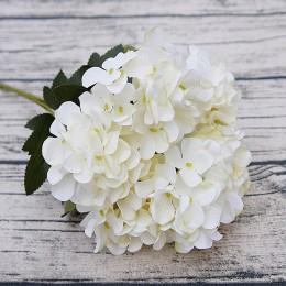 Hortensia de seda diy regalos boda decoración de Navidad para el hogar flores falsas de plástico productos para el hogar flores