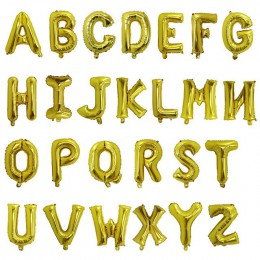 16 pulgadas nombre personalizado A-Z carta opcional globo Rosa oro Silve papel aluminio dorado cumpleaños boda decoración provee