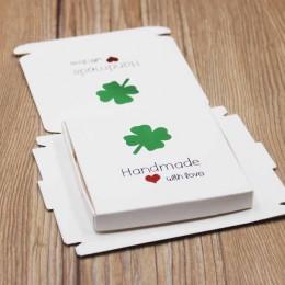 Felluan personalizado multi estilos regalo/caramelo/caja de embalaje DIY hecho a mano con amor cartón regalo paquete y caja de e