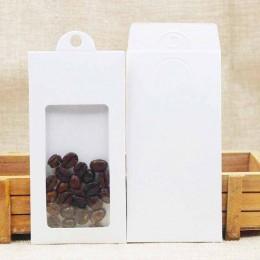 Regalo personalizado Feiluan/caramelo/caja con colgante de embalaje con ventana de PVC transparente 13,4*6,7 CM 10 Uds caja de e