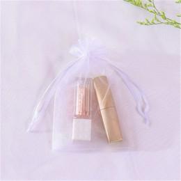 Bolsas de Organza Paquete de joyas cosméticos Pouch7x9cm 9x12cm 10x15cm 13x18cm diferentes colores caliente nuevo diseño logotip