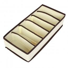 LASPERAL 4 Uds cajas de almacenamiento Ropa Interior divisor cajón con tapa armario Organizador Ropa Interior Organizador para c