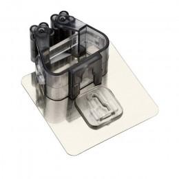 Soporte de baño montado en la Pared Soporte para mopa cepillo gancho para escoba estante de almacenamiento herramientas de cocin