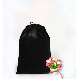 Bolsa de almacenamiento a prueba de agua para zapatos, bolsa de almacenamiento, bolsa de tela no tejida, bolsas con cordón, nece