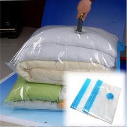 Bolsas de vacío para ropa organizador de equipaje bolso de almacenamiento comprimido plegable organizador de guardarropa de ahor