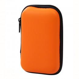 Bolsa de almacenamiento rectangular para teléfono móvil Cable de datos cargador de los dedos paquete de la cremallera bolsa port
