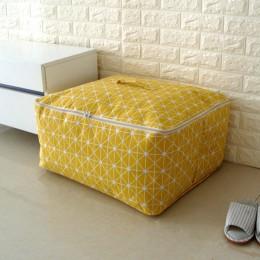 Nuevo organizador Simple Cloest 1 Uds bolsa de almacenamiento Durable edredón Blnket calcetín cosas contenedor portátil plegable