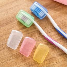 5 unids/set funda de cepillo de dientes de plástico funda de viaje senderismo Camping portátil tapa para cepillo de dientes fund
