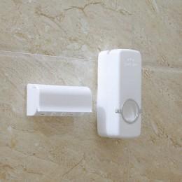 Accesorios de baño conjunto de cepillo de dientes titular dispensador automático de pasta de dientes titular de cepillo de dient