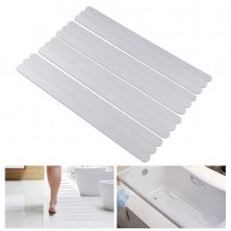 Tiras antideslizantes pegatinas de ducha tiras de seguridad de baño tiras transparentes antideslizantes pegatinas para bañeras d
