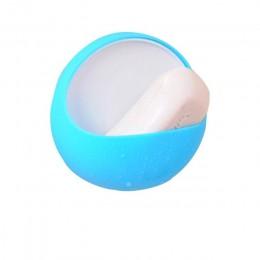 Novedad calificada Dropship plástico ventosa jabón cepillo de dientes plato de caja soporte accesorio de ducha de baño SEP22