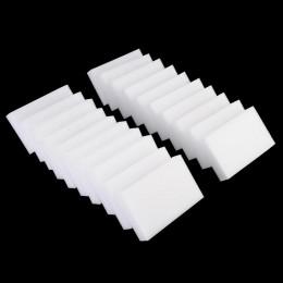 20 piezas 100*58*20mm blanco esponja melamina Borrador de esponja mágico para oficina de cocina accesorio de limpieza para baño/