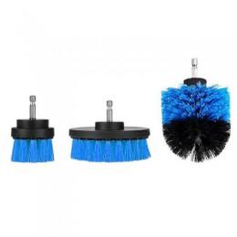 3 uds limpiador eléctrico cepillo limpieza para superficies de baño bañera azulejo de ducha lechada sin cable Power Scrub Kit de