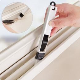 2 en 1 ventana multipropósito Limpieza de surcos cepillo para el hogar, teclado casa cocina plegable herramienta cepillo de limp