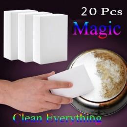 20 piezas 10x6x2cm esponja de melamina limpiador de melamina para Cocina Oficina Limpieza de baño Nano esponjas herramientas