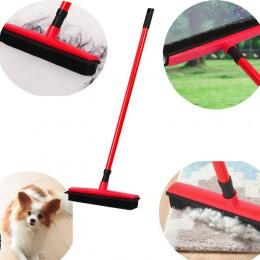 Escoba de pelo para el suelo rascador de polvo y cepillo de caucho para mascotas limpiador de alfombras barredora No lavar a man
