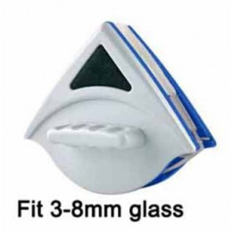 Cepillo de limpieza de vidrio magnético de doble cara de mano para ventanas de lavado cepillo de superficie de vidrio limpiador