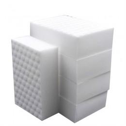 Esponja de melamina de cocina comprimida doble de alta densidad 30 Uds. Almohadilla de borrador mágica para la limpieza de plato